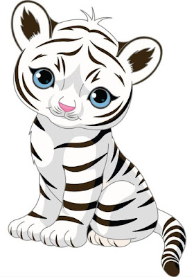 gambar harimau kartun