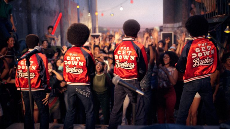 The Get Down Brothers actuación rap hip-hop scratch
