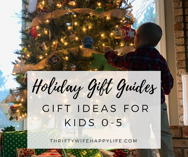 Holiday Gift Guides- Babies and Kids 0-5 #giftguide