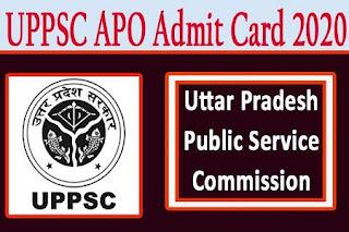 UPPSC APO Mains Exam Online Form 2020 Apply Now