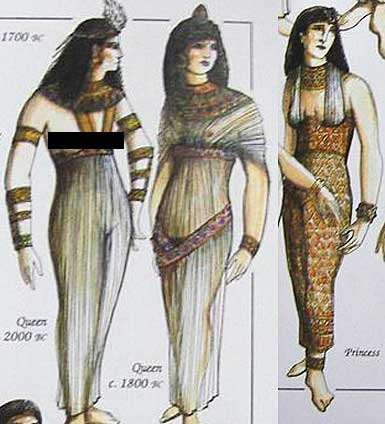 Vestimenta antigo egito