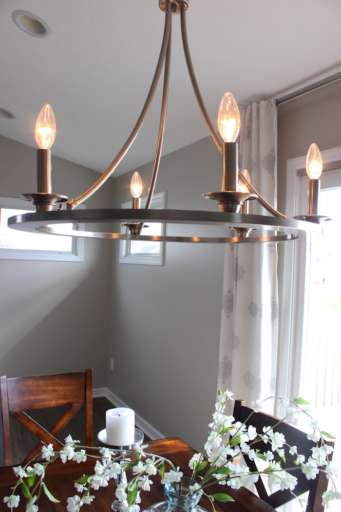 I Wouldn T Normally Dedicate An Entire Blog Post To A Chandelier But M Making Exception Today As Our New Over Dining Table Has Brought