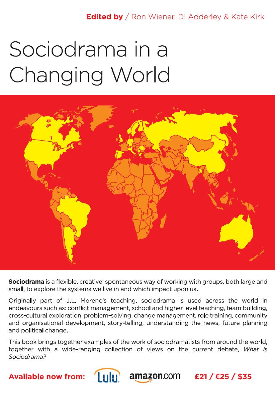 Novo livro sobre Sociodrama: Sociodrama in a Changing World