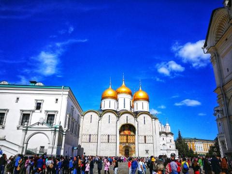 Moskwa, sobór Moskwa, sobór Kreml, cerkiew Kreml, cerkwie Moskwa