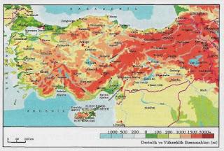 Haritaların özellikleri ve çeşitleri nelerdir?