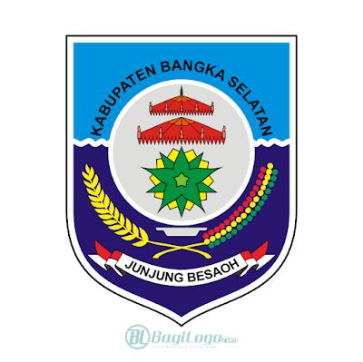 Kabupaten Bangka Selatan Logo Vector