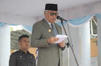 Wabup Dahlan Pimpin Upacara  Hari Amal Bhakti Kemenag Tingkat Kabupaten Bima