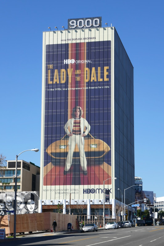 Giant Lady and the Dale HBO series billboard