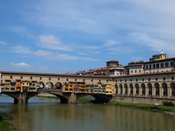 florence toscane arno ponte vecchio