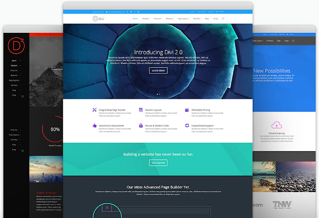 Divi WordPress Theme - Full FREE