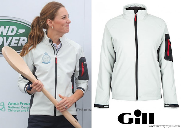 Kate Middleton wore Gill Team Softshell Jacket