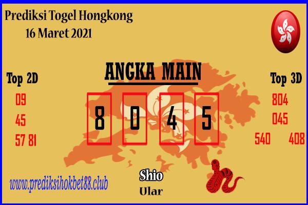 Bocoran HK 16 Maret 2021