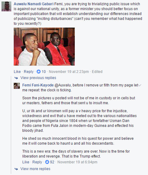 FFK writes on his experience with Nnamdi Kanu, claps back at trolls