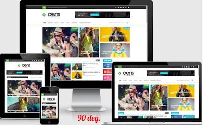 Den blogspot Blogger Template