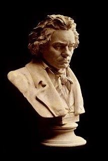 Bust statue of Ludwig van Beethoven by Hugo Hagen