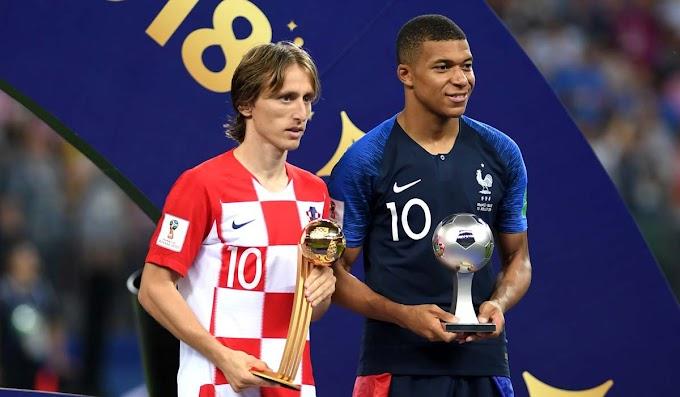 Luka Modric é eleito o melhor da Copa, e Mbappé a revlação