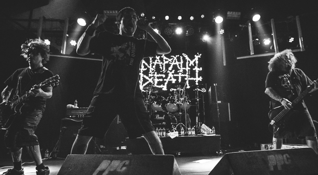 napalm death 2017