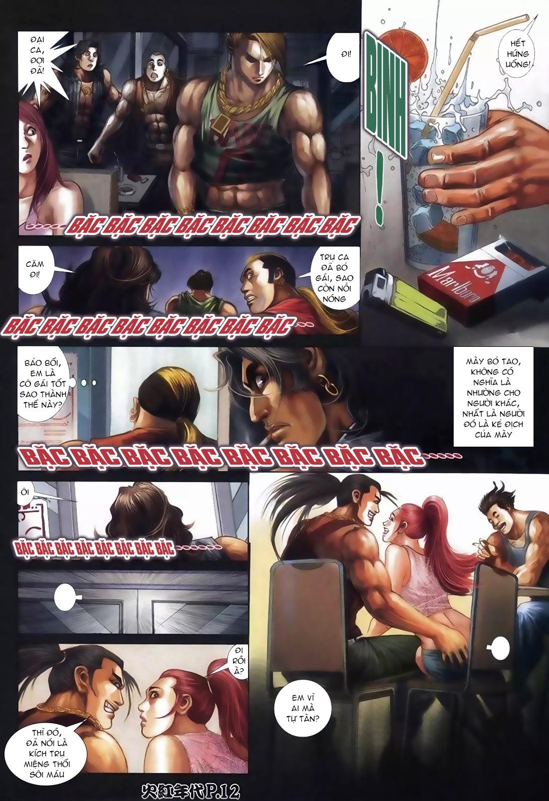 Hỏa Hồng Niên Đại Hắc Cốt Đường Chap 111 - Trang 8