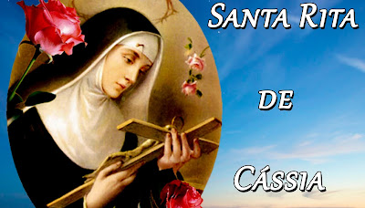 Resultado de imagem para Convite e programação  de 13 a 22 para festa da Padroeira Santa Rita de Cássia