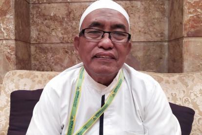 Jamaah ATRIA Bersiap Tawaf Wada', Hujan di Mina Listrik Sempat Padam