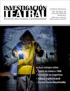 Investigación Teatral. Revista de Artes Escénicas y Performatividad