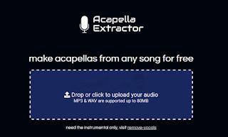 افضل موقع مجاني لفصل الصوت عن الموسيقى