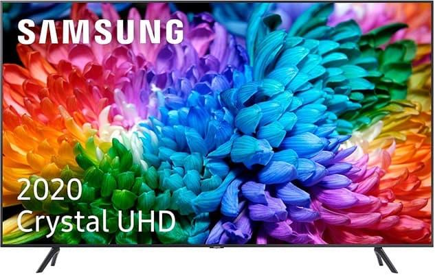 Samsung Crystal UHD 2020 43TU7105: análisis