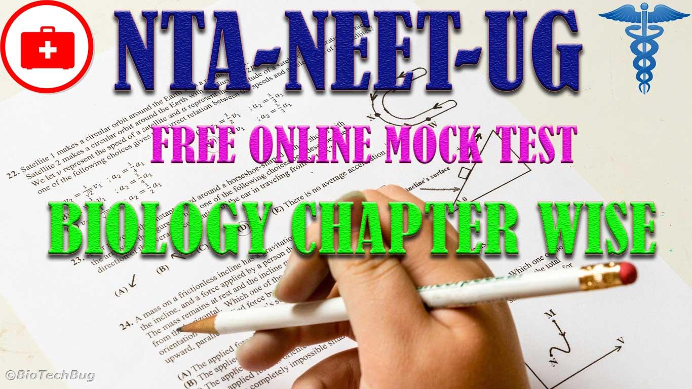 neet biology mock test chapter wise free