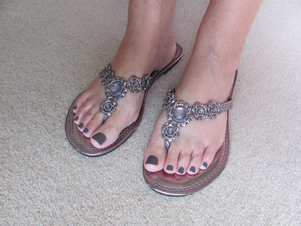 jan s world my sandals and pretty toes