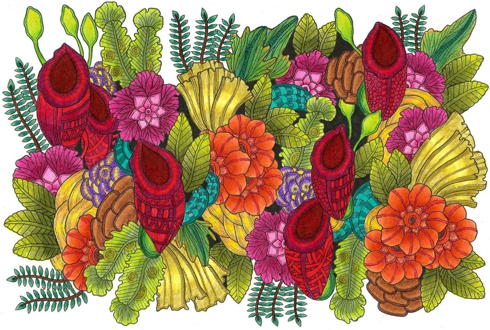 Marty Woods | Artist | Doodler | Adult Coloring Book Author | Global ...