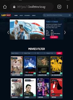 Lookmovie online Streaming website