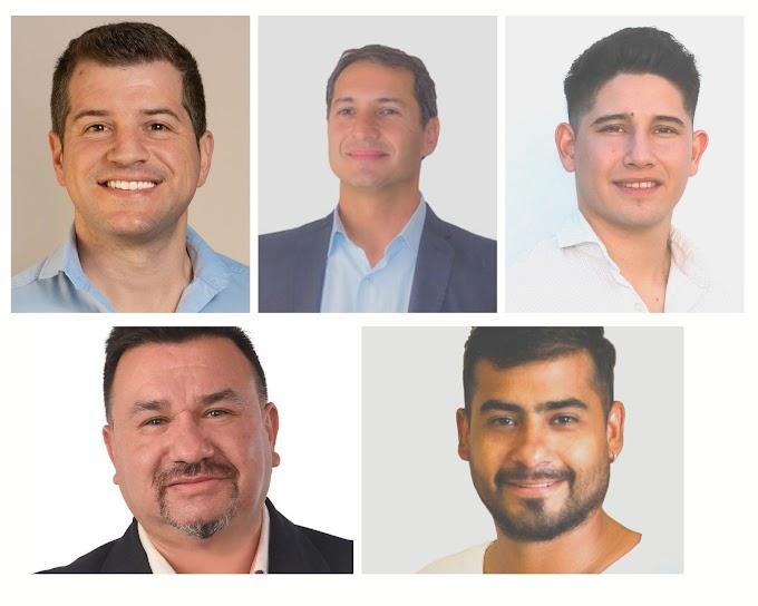 Finalmente son 5 los candidatos a concejales; el Tribunal publicó los resultados finales y las listas