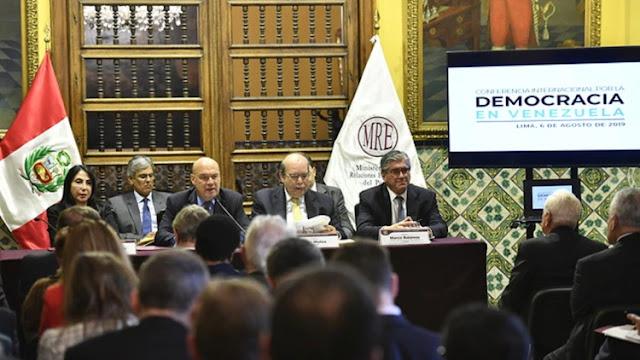Más de 60 delegaciones confirmaron su presencia en la Conferencia Internacional por la Democracia en Venezuela