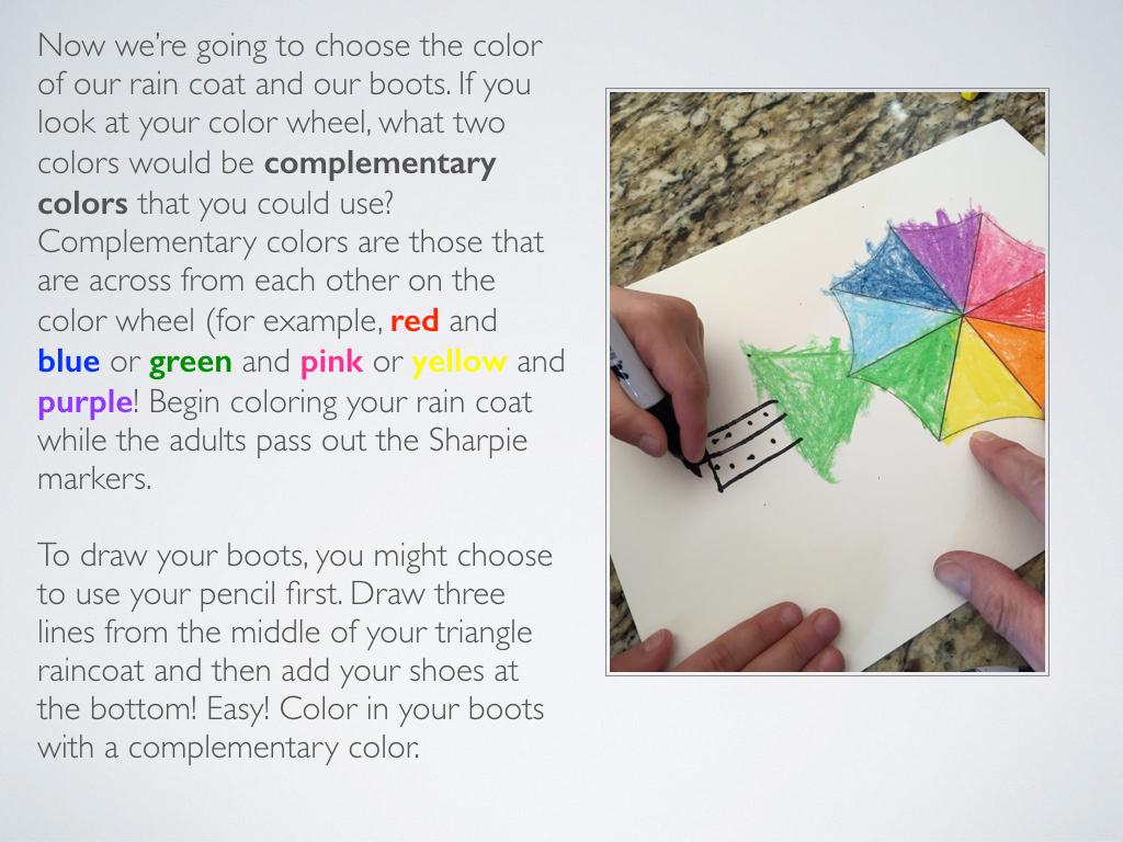 Art A Baloo Crew Color Wheel Umbrellas Lesson In And Texture