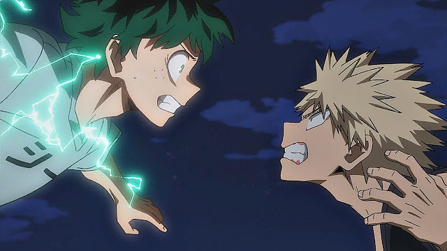 Midoriya and Bakugo
