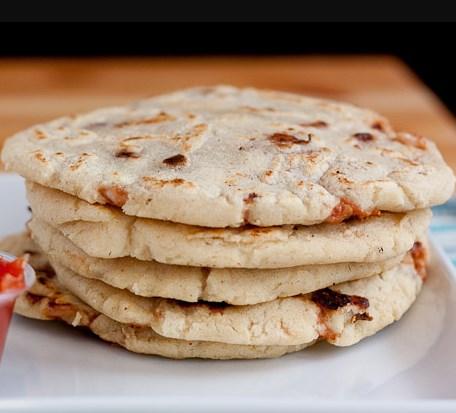 Salvadorean Bean and Cheese Pupusas #diet #healthy