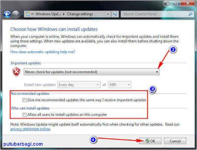 Cara Mematikan Windows Update Di Laptop/PC Terbaru 2017