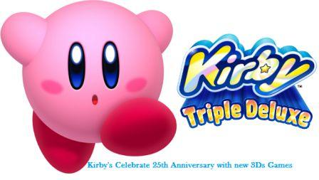 Kirbys-Celebrate-25th-Anniversary-with-new-3Ds-Games