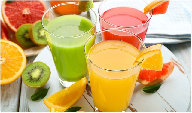 Variety of your regular drinking regime with fruits and vegetables!