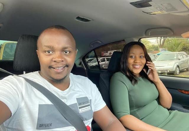 Joab Mwaura and his wife Nancy Onyancha company photos