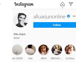 Allu Instagram