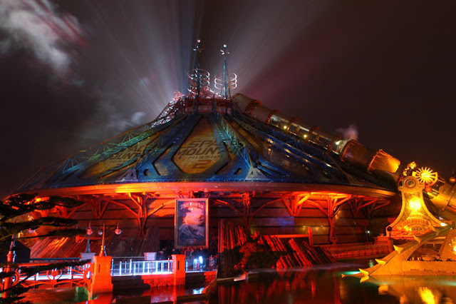 "The launch of ""Space Mountain: Mission 2"" in Disneyland Paris, Disney, DLRP"