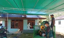 Peduli Kemanusiaan, PCNU Melawi Gelar Aksi penyemprotan Disinfektan di Masjid dan Surau