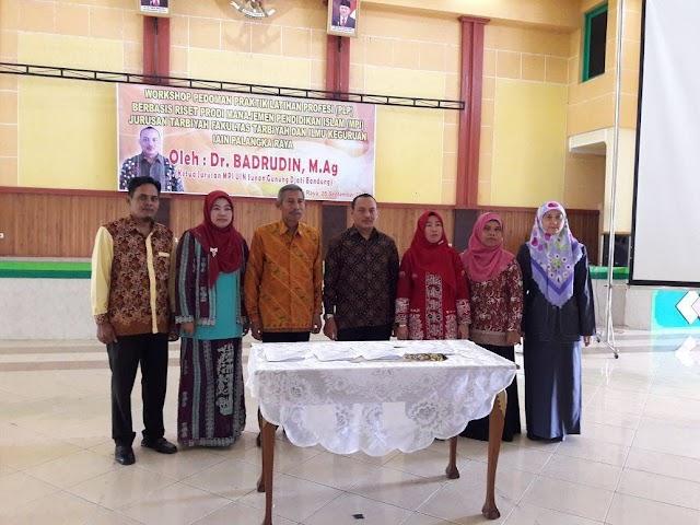 Workhsop Praktek Latihan Profesi (PLP) - Prodi MPI FTIK IAIN Palangka Raya