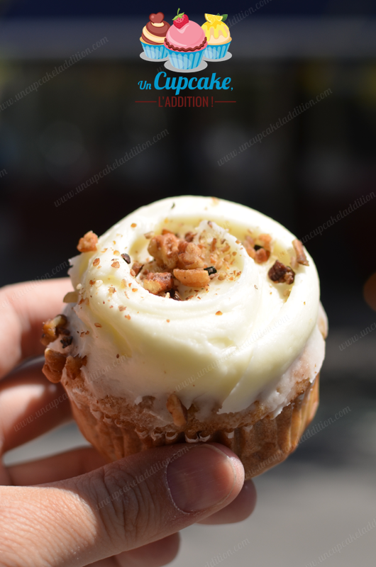 "Cupcake ""Hummingbird"" de chez Magnolia Bakery"
