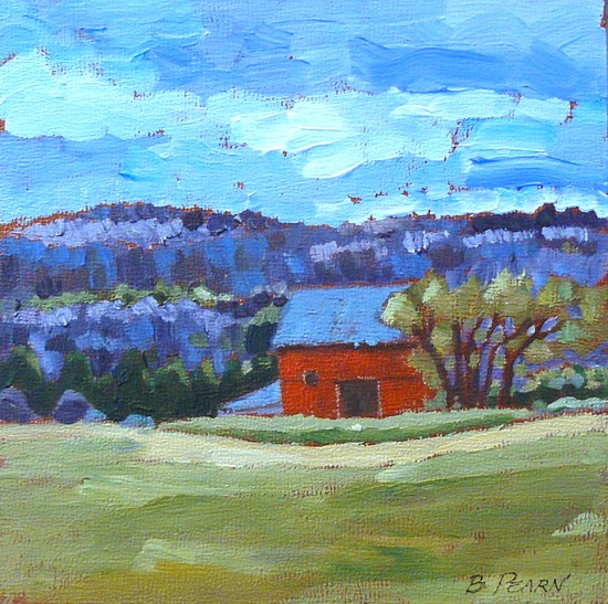 Oil Paintings By Barbara Pearn Early Spring In The Valley