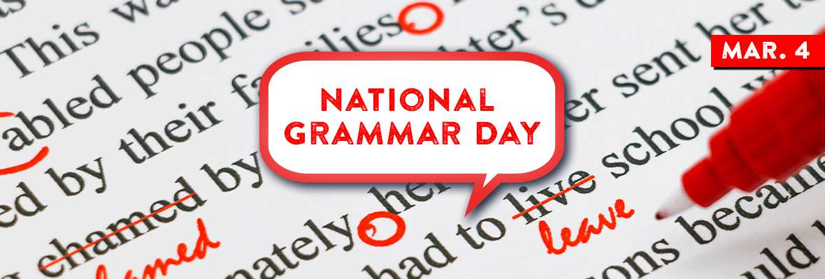National Grammar Day Wishes Awesome Picture