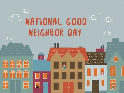 National Neighbor Day Wishes Awesome Images, Pictures, Photos, Wallpapers
