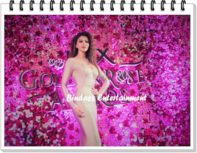 uravashi-rautela-in-lux-golden-rose-awards-2