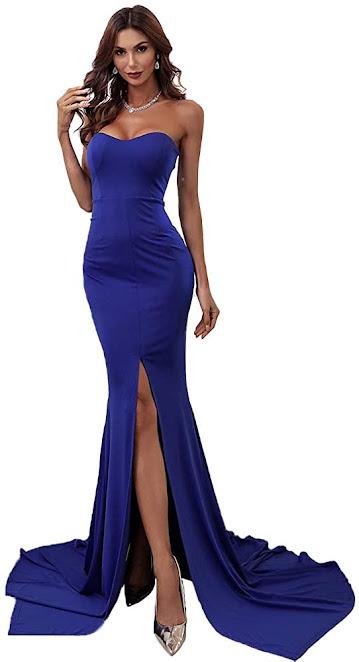 Elegant Strapless Maxi Dresses for Weddings
